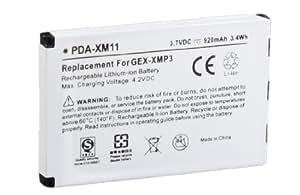 PIONEER 920 mAh XMP3 and Audiovox XMP3i LONG LASTING RECHARGEABLE BATTERY- PDA-XM11