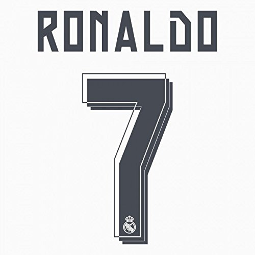 RONALDO #7 Real Madrid Home 2015-2016 Soccer Jersey Shirt Print Name/Number Set Youth / Junior Size (Cristiano Ronaldo Print Number compare prices)