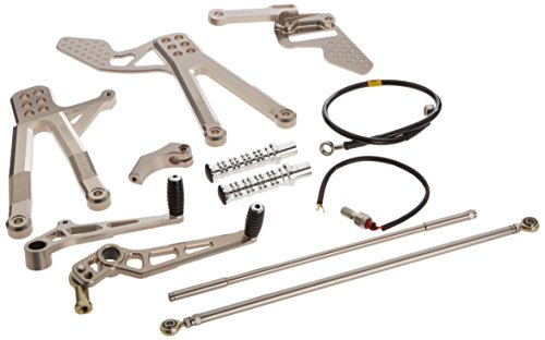 Yamaha GYT-14B55-50-20 Harris Adjustable Rear Set for Yamaha YZF-R1