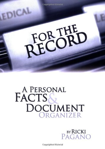 personal medical record template