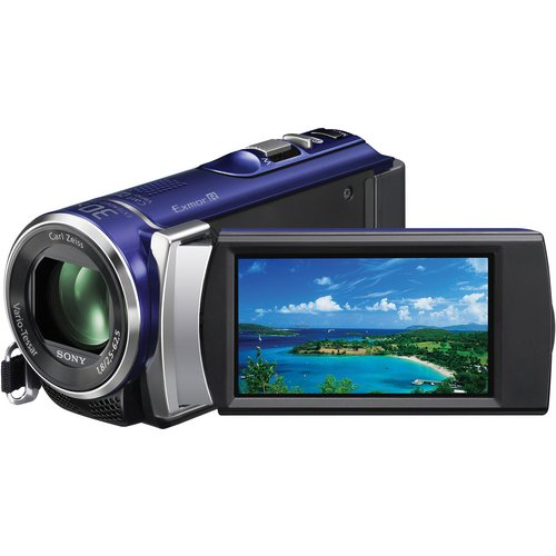 Sony HDR-CX210 High Definition Handycam 5.3 MP Camcorder with 25x Optical Zoom (Blue)