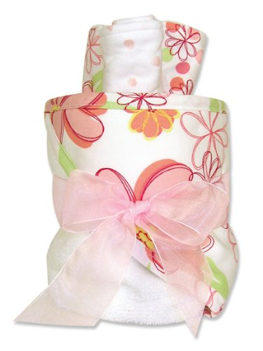 Trend Lab Hooded Towel Gift Cake, Hula Baby