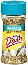 Mrs Dash GARLIC amp HERB Salt-Free Seasoning 25oz 2-pack