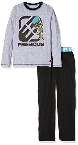 Freegun EG.Freextrem.PY.Mz, Set Abbigliamento Sportivo Bambino, Gris (Gris Chiné/Noir), 14 Anni