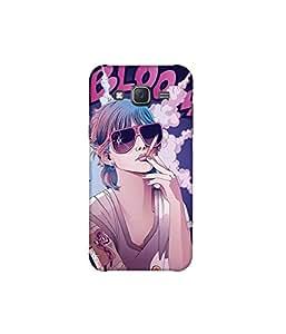 Kolor Edge Printed Back Cover For Samsung Galaxy On5 - Multicolor (8021-Ke11079SamOn5Sub)