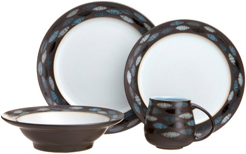 Denby Sienna Ellipse 4-Piece Place Setting