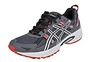 ASICS Men's GEL-Venture® 5 Running Shoe (10.5 D(M) US, Castle Rock/Silver/Fiery Red)