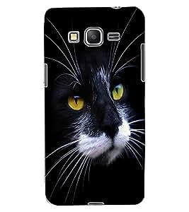 ColourCraft Cat Face Design Back Case Cover for SAMSUNG GALAXY GRAND PRIME G530H