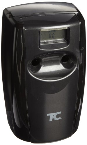 Rubbermaid Commercial Fg4870002 Microburst Duet Dual-Fragrance Odor Control Dispenser, Black & Black Pearl