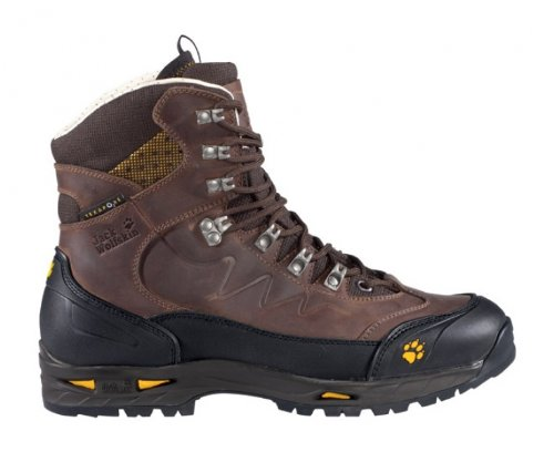 JACK WOLFSKIN Men's Deviator Texapore Alpine Boots, Dark Brown, UK10.5