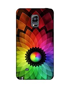 Pick Pattern Back Cover for Samsung Galaxy Note 4 EDGE SM-N9150