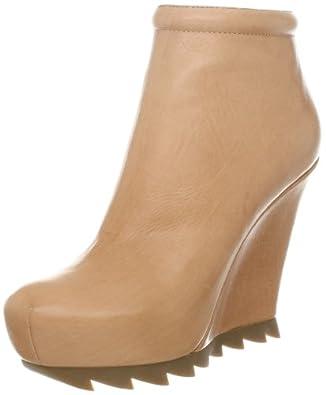 Camilla Skovgaard London Women's Jagged Wedge Ankle Boot,Almond,36 EU/6 M US
