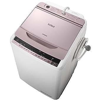 日立 8.0kg 全自動洗濯機 ピンクHITACHI ビートウォッシュ BW-8WV-P