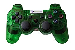 Digital Gaming World's PS3 Wireless Controller For Sony PS3 Console(Transparent Green Limited Edition), Compatible/Generic.