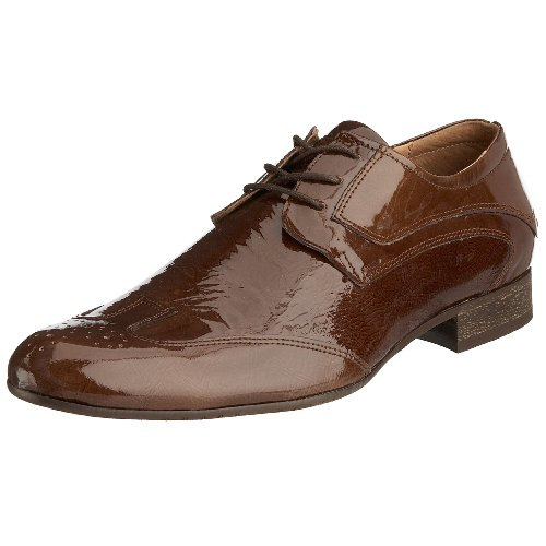 Maruti Men's Ben Brown Patent Lace Up 66.20022.4053 9.5 UK