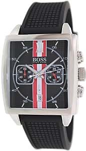 Hugo Boss - 1512731 - Montre Homme - Quartz Analogique - Cadran - Bracelet Silicone Noir