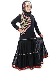 MyBatua Aamilah Party & Eid Wear Baby Abaya Dress AY-407-K (M)
