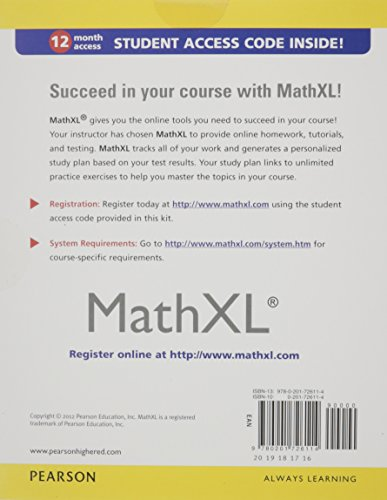 Precalculus Value Pack (includes MathXL month Student Access Kit & Tutor Center Access Code) (3rd Edition) Apr 17, by Judith A. Beecher and Judith A. Penna.