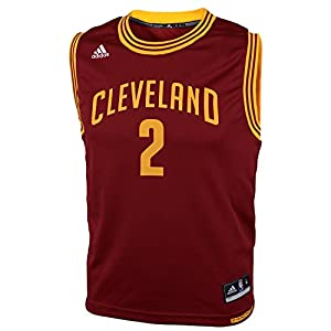 NBA adidas Kyrie Irving Cleveland Cavaliers Youth Revolution 30 Replica Performance Jersey - Wine