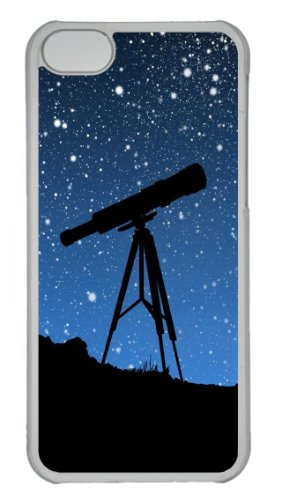 Sky Telescope Pc Transparent Case For Iphone 5C/5