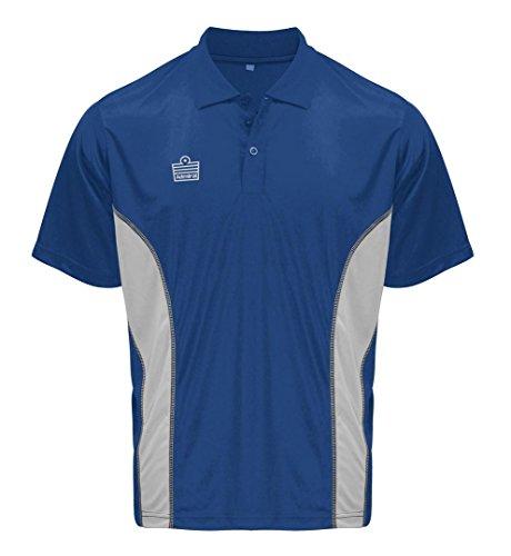 Admiral argo soccer coach sideline polo shirt royal for Soccer coach polo shirt