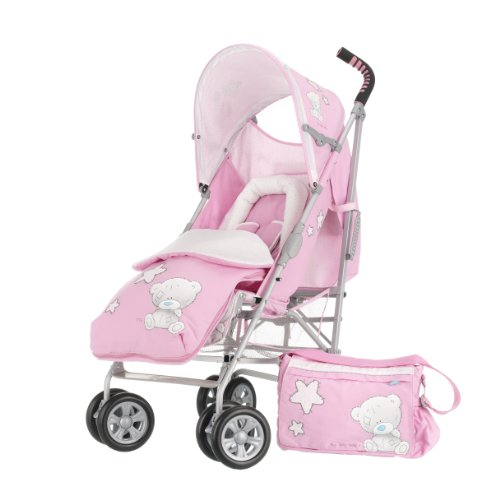 Tiny Tatty Teddy Stroller Bundle (Pink)