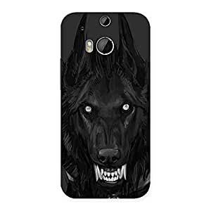 Danger Wolf Back Case Cover for HTC One M8