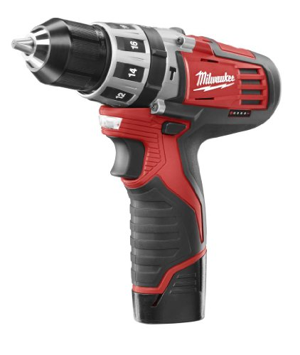 Milwaukee 2411-22 M12 12-Volt 3/8-Inch Hammer Drill Kit