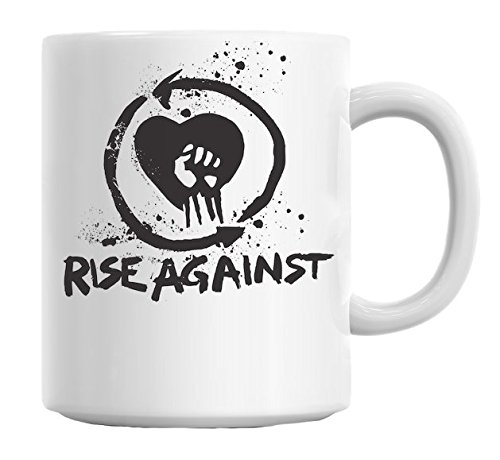 Rise Against Punk Rock Band-Tazza