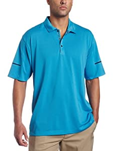 NIKE Men's Tiger Woods Platinum Collection Dri-FIT Considered Golf Polo Shirt