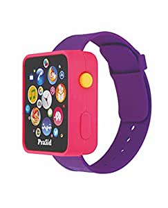 Prasid English Learner Smart Watch, Pink/Purple