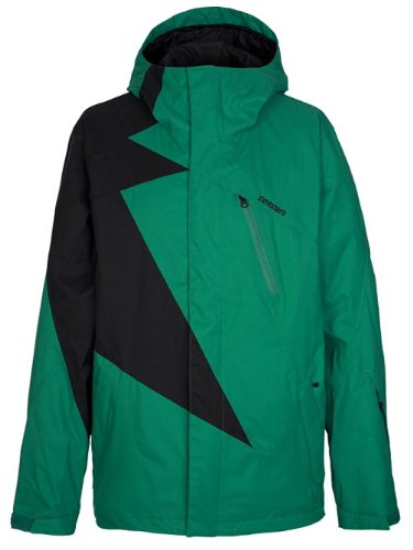Zimtstern Herren Jacket Snow Flash, emerald/black,