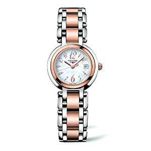 Amazon.com: Womans watch RELOJ LONGINES SRA AC.ORO ESF.NACAR L81105836