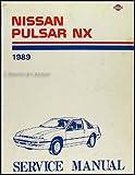 1989 Nissan Pulsar NX Repair Shop Manual Original