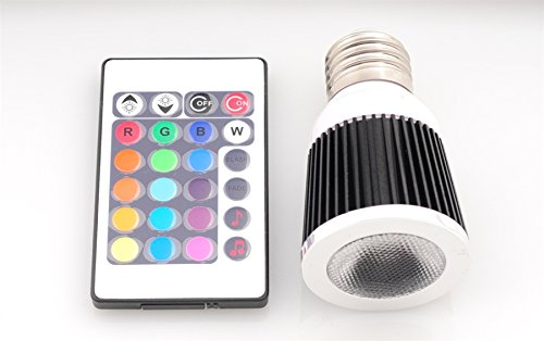 Led Bar Lighting Multicolored Music Led Bulb With Remote,Llb-Rgbm