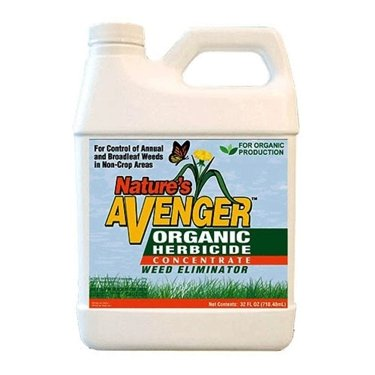 Nature's Avenger Organic Weed & Grass Killer 32oz Concentrate