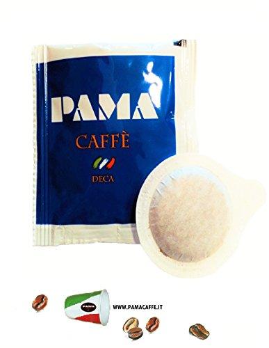 200 Cialde Caffè Pama Filtro carta Ese 44mm miscela Deca