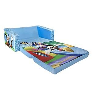 Marshmallow Children's Furniture - 2 in 1 Flip Open Sofa - Disney Mickey Mouse
