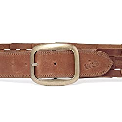 Handcrafted Exclusive Mens Leather Belt,32
