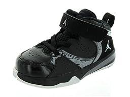 Nike Infants Jordan Phase 23 2 (TD) Black/White/Cement Grey/Black Basketball Shoes 8 Infants US