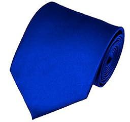 AimTrend Men\'s Neckties Elegant-Royal Blue