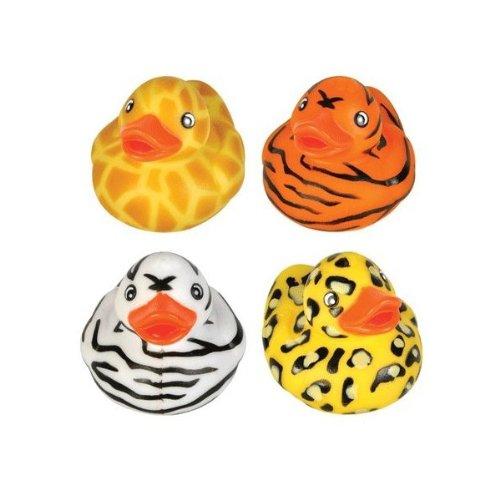 "Rhode Island Novelty 2"" Safari Rubber Duck (12 Piece)"
