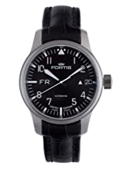 Fortis Men's 700.10.81 LC.01 F-43 Flieger Black Automatic Date Watch