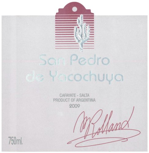 2009 San Pedro De Yacochuya Red Blend 750 Ml