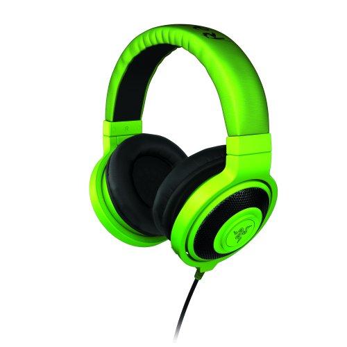 Razer Kraken Pro - Green アナログ接続 ステレオ ゲーミング ヘッドセット 【正規保証品】 RZ04-00870100-R3M1