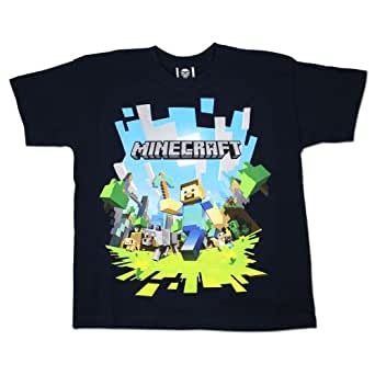 Boys Minecraft T-shirt | Mine Craft Tshirt | Age 5 to 6 Years