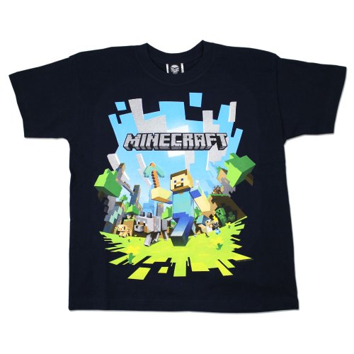 Character com Boys Minecraft T-shirt | Mine Craft Tshirt | Age 9 to 10 Years