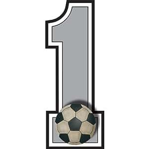 """Amazon.com - """"1"""" Número del balón de fútbol Jersey del"""