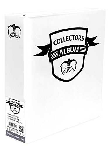 "3"" White Binder Collectors Album"