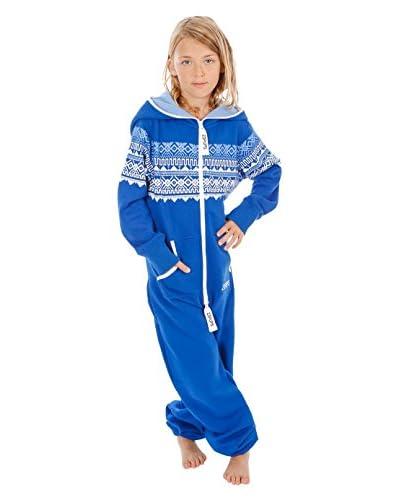 Zipups Mono-Pijama Scandinavia Azul